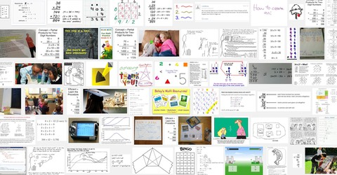 Collection of images for math algorithms